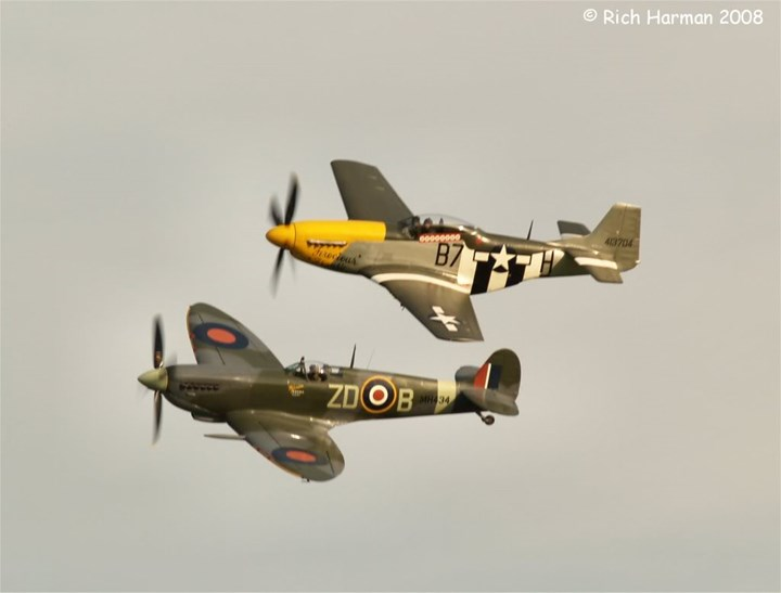"FROM BRUSSELS TO DUXFORD FIELD - 75th anniversary of the ""SPITFIRE"""