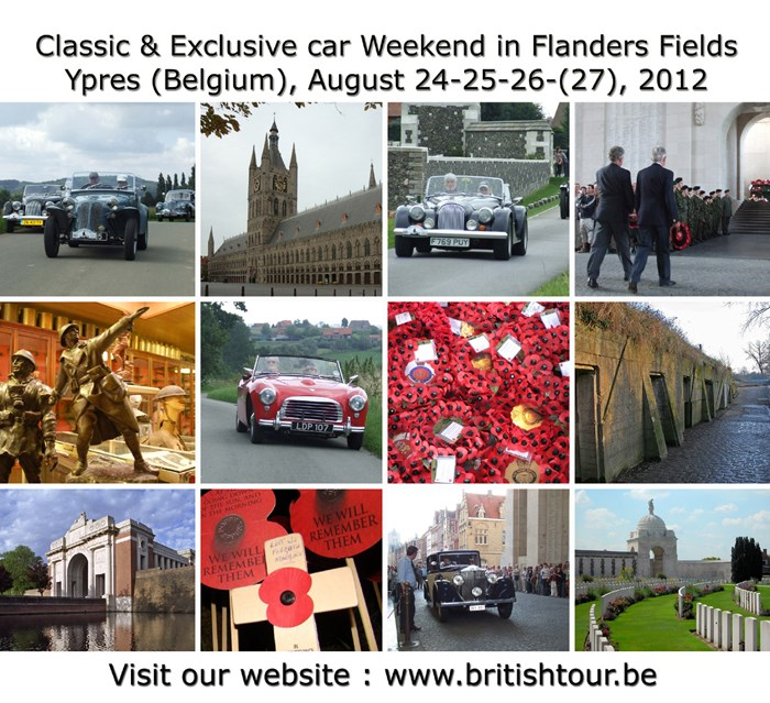 British Tour in Flanders Fields