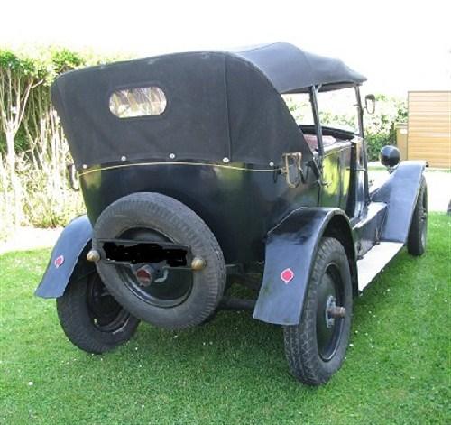 renault kz 1924 torp do renault kz voitures vendre. Black Bedroom Furniture Sets. Home Design Ideas